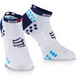 Compressport ProRacing V3 Run Low Socks Ironman 2017 punchy blue